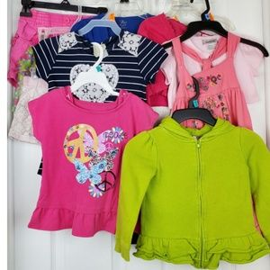 14 pieces bundle of children clothing size 3-4